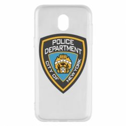 Чехол для Samsung J5 2017 New York Police Department