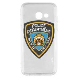 Чехол для Samsung A3 2017 New York Police Department