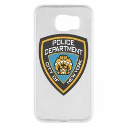 Чехол для Samsung S6 New York Police Department
