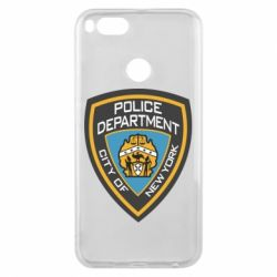 Чехол для Xiaomi Mi A1 New York Police Department