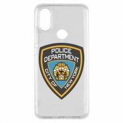Чехол для Xiaomi Mi A2 New York Police Department