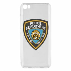 Чехол для Xiaomi Mi5/Mi5 Pro New York Police Department