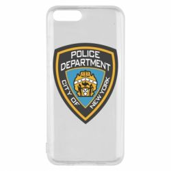 Чехол для Xiaomi Mi6 New York Police Department
