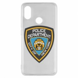 Чехол для Xiaomi Mi8 New York Police Department