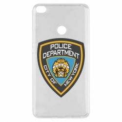 Чехол для Xiaomi Mi Max 2 New York Police Department