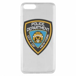 Чехол для Xiaomi Mi Note 3 New York Police Department