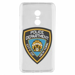 Чехол для Xiaomi Redmi Note 4 New York Police Department