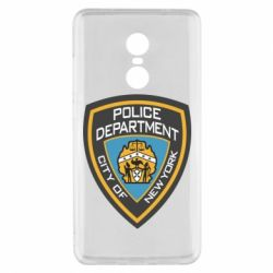Чехол для Xiaomi Redmi Note 4x New York Police Department