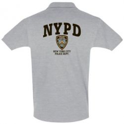 Футболка Поло New York Police - FatLine
