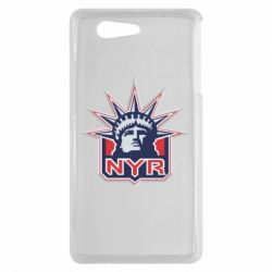 Чехол для Sony Xperia Z3 mini New York Rangers - FatLine