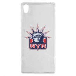 Чехол для Sony Xperia Z5 New York Rangers - FatLine