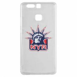 Чехол для Huawei P9 New York Rangers - FatLine