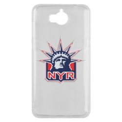 Чехол для Huawei Y5 2017 New York Rangers - FatLine