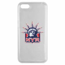Чехол для Huawei Y5 2018 New York Rangers - FatLine