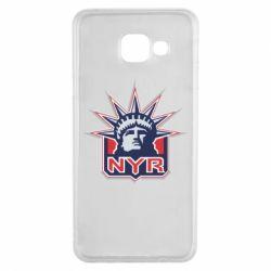 Чехол для Samsung A3 2016 New York Rangers - FatLine