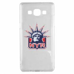 Чехол для Samsung A5 2015 New York Rangers - FatLine