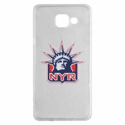 Чехол для Samsung A5 2016 New York Rangers - FatLine