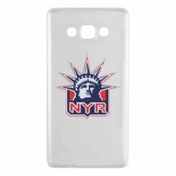 Чехол для Samsung A7 2015 New York Rangers - FatLine