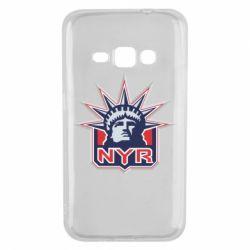 Чехол для Samsung J1 2016 New York Rangers - FatLine
