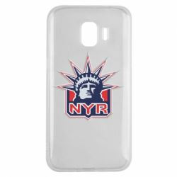 Чехол для Samsung J2 2018 New York Rangers - FatLine