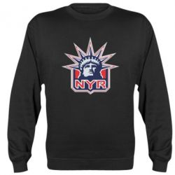 Реглан (свитшот) New York Rangers - FatLine