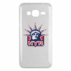Чехол для Samsung J3 2016 New York Rangers - FatLine