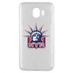 Чехол для Samsung J4 New York Rangers - FatLine