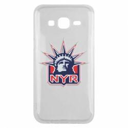 Чехол для Samsung J5 2015 New York Rangers - FatLine