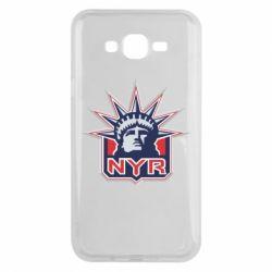 Чехол для Samsung J7 2015 New York Rangers - FatLine