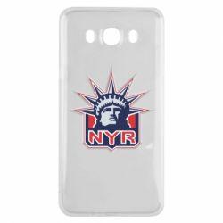 Чехол для Samsung J7 2016 New York Rangers - FatLine
