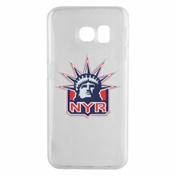 Чехол для Samsung S6 EDGE New York Rangers - FatLine