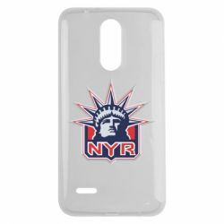 Чехол для LG K7 2017 New York Rangers - FatLine