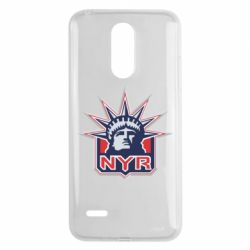 Чехол для LG K8 2017 New York Rangers - FatLine