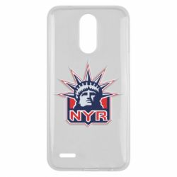 Чехол для LG K10 2017 New York Rangers - FatLine