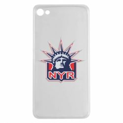 Чехол для Meizu U20 New York Rangers - FatLine