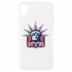 Чехол для iPhone XR New York Rangers - FatLine