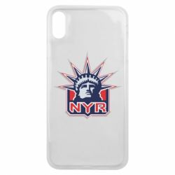 Чехол для iPhone Xs Max New York Rangers - FatLine