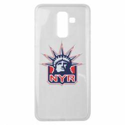 Чехол для Samsung J8 2018 New York Rangers - FatLine