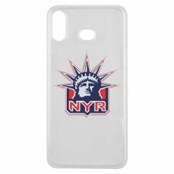 Чехол для Samsung A6s New York Rangers - FatLine