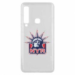 Чехол для Samsung A9 2018 New York Rangers - FatLine