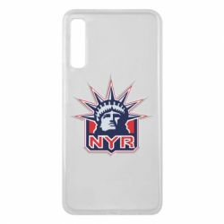 Чехол для Samsung A7 2018 New York Rangers - FatLine