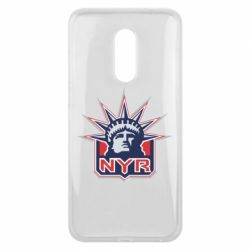 Чехол для Meizu 16 plus New York Rangers - FatLine