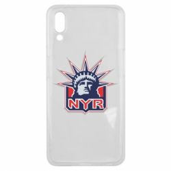 Чехол для Meizu E3 New York Rangers - FatLine