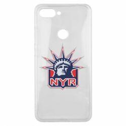 Чехол для Xiaomi Mi8 Lite New York Rangers - FatLine