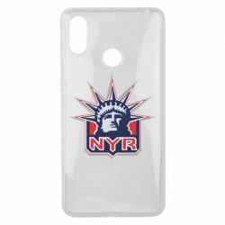 Чехол для Xiaomi Mi Max 3 New York Rangers - FatLine
