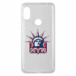 Чехол для Xiaomi Redmi Note 6 Pro New York Rangers - FatLine
