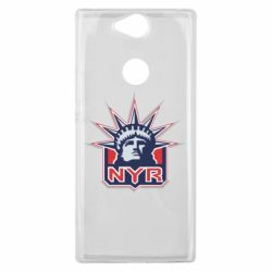 Чехол для Sony Xperia XA2 Plus New York Rangers - FatLine