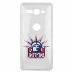 Чехол для Sony Xperia XZ2 Compact New York Rangers - FatLine