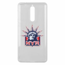 Чехол для Nokia 8 New York Rangers - FatLine