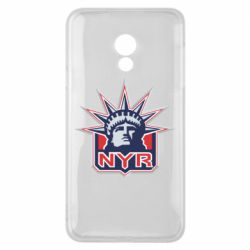 Чехол для Meizu 15 Lite New York Rangers - FatLine
